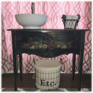 Ebony Single Sink Vanity