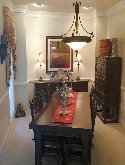 Hermitage, Tn home dining room after decluttering and organizing