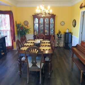 Declutter service Brentwood Tn home dining room