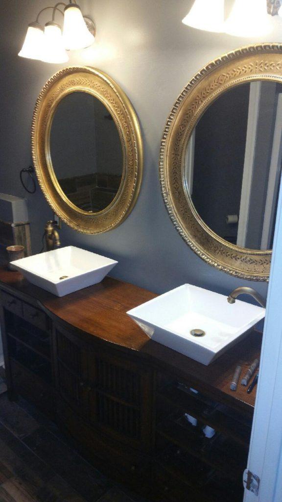 Custom Double Vanity View 2
