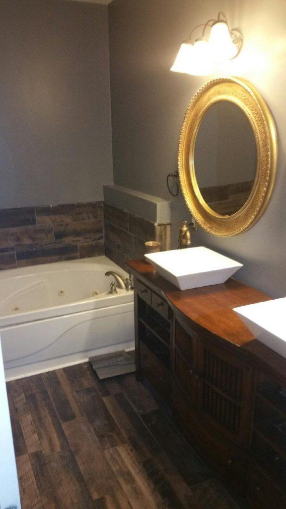 Bathrom Custom Double Sink Vanity