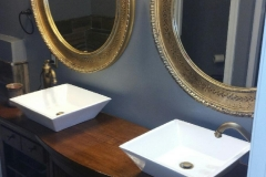 Custom Double Vanity View 2