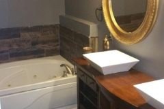 Bathrom Custom Double Sink Vanity