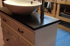 Single Oval Sink Vanity